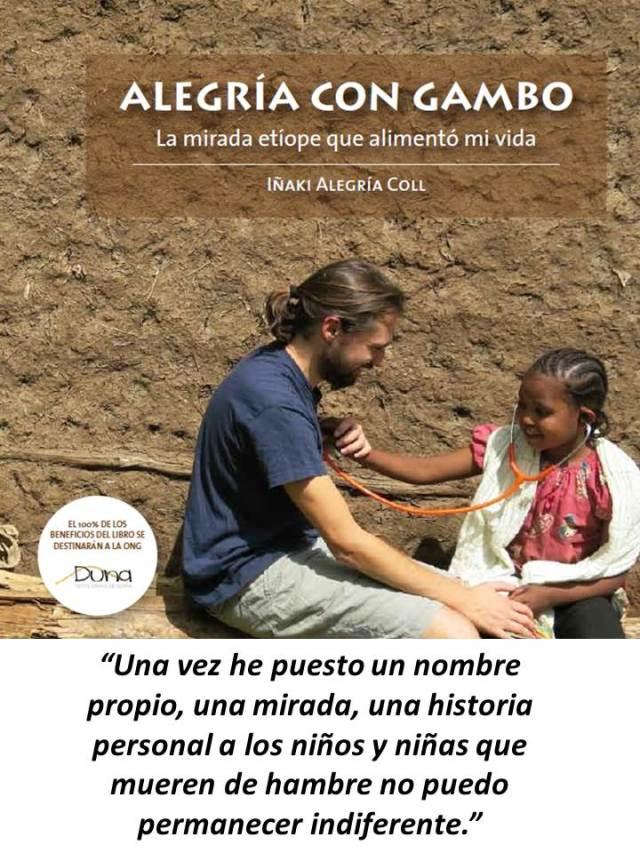 Presentacion Alegria con Gambo 2. Iñaki Alegria