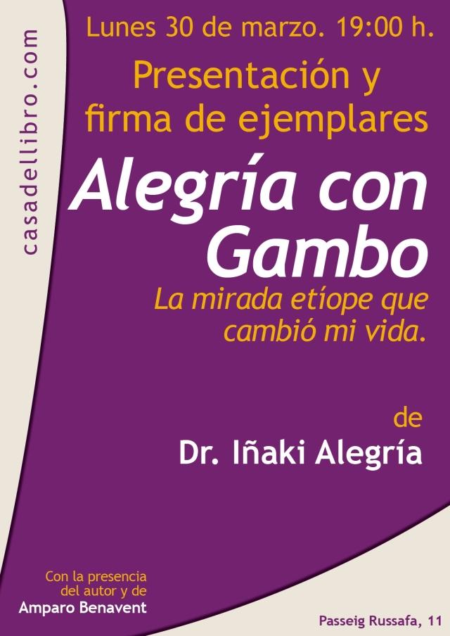 Casa del libro. Alegría con Gambo