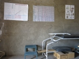 Sala de partos en un centro de salud rural